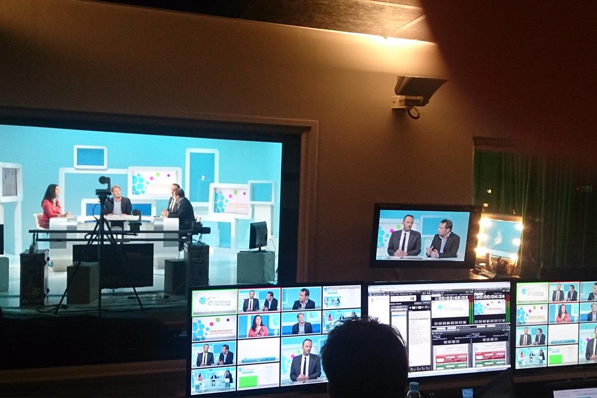 Réalisation emission studio télévision