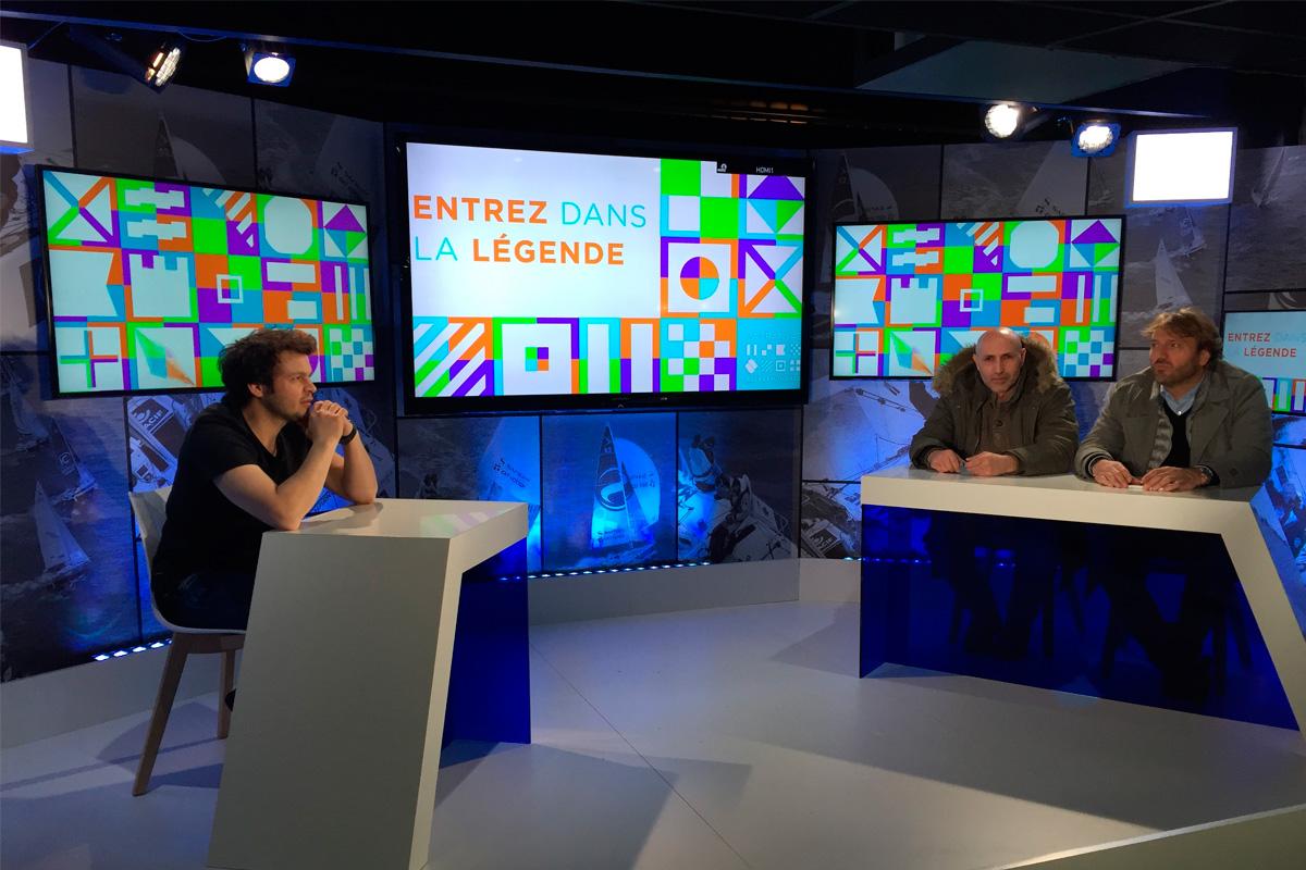 Création plateau interview
