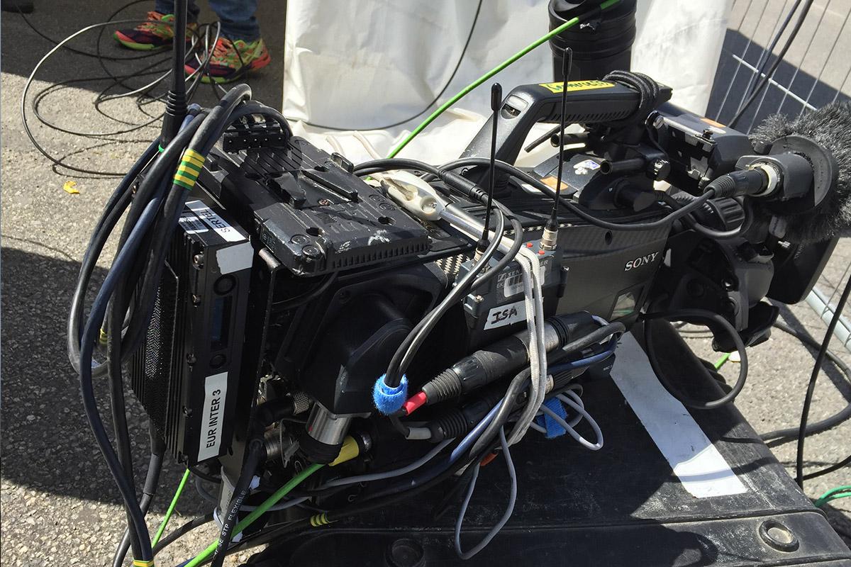 Camera liaison HF événement
