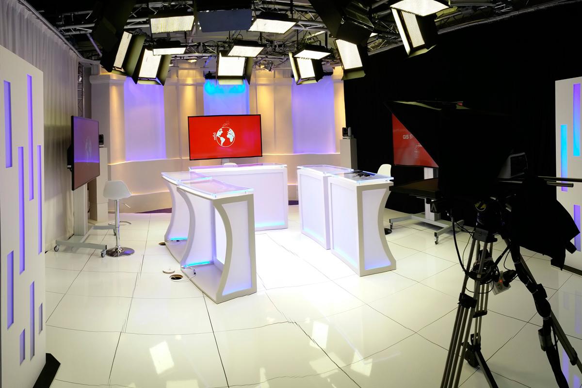 Studio télévision création et installation